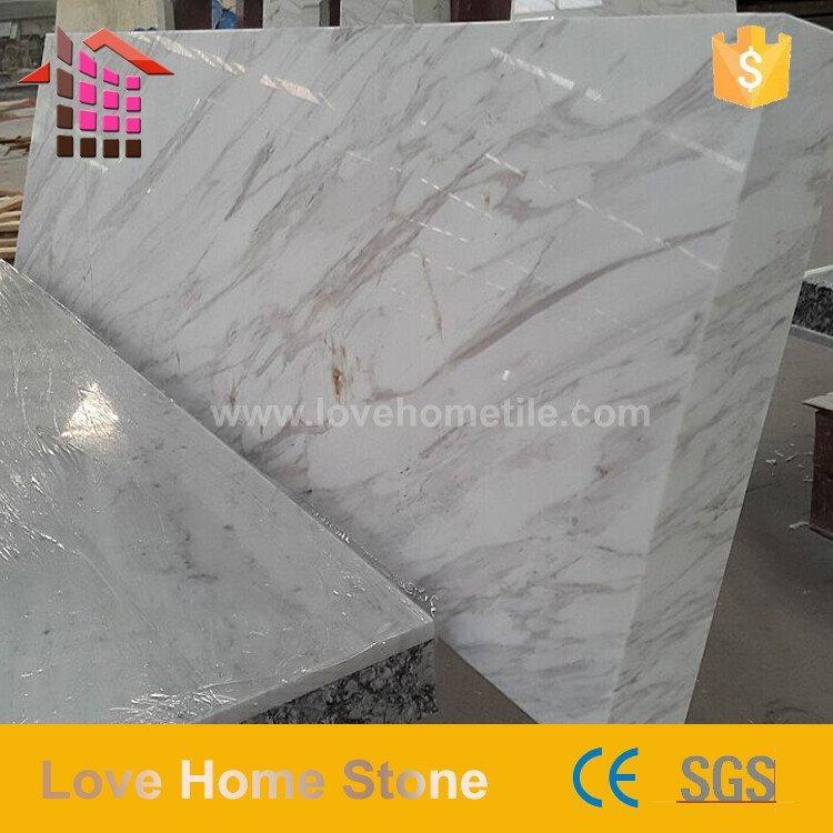 Volakas White Marble Countertop - Bathroom Marble Tile