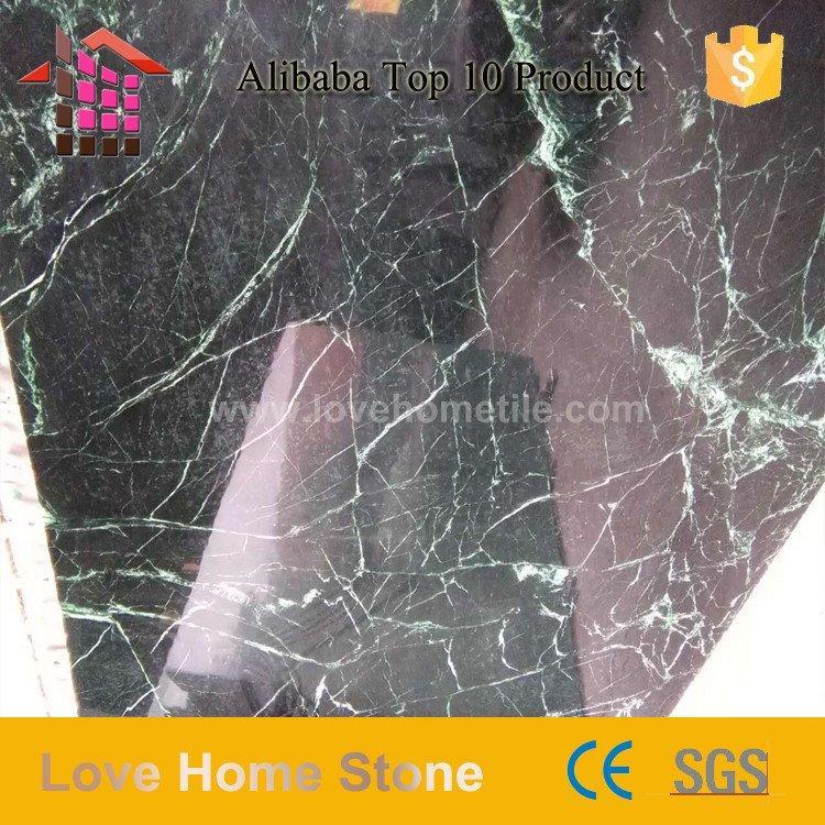 Cara | Dark Green Marble Flooring