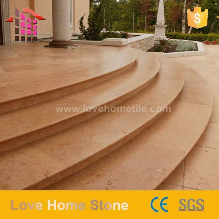 Natural Marble Stair Customized Size Stone Made
