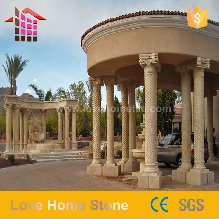 Marble Design Rome Pillar - Marble Columns Design