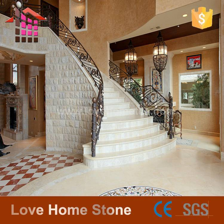 Natural Marble Stair Customized Size Stair series