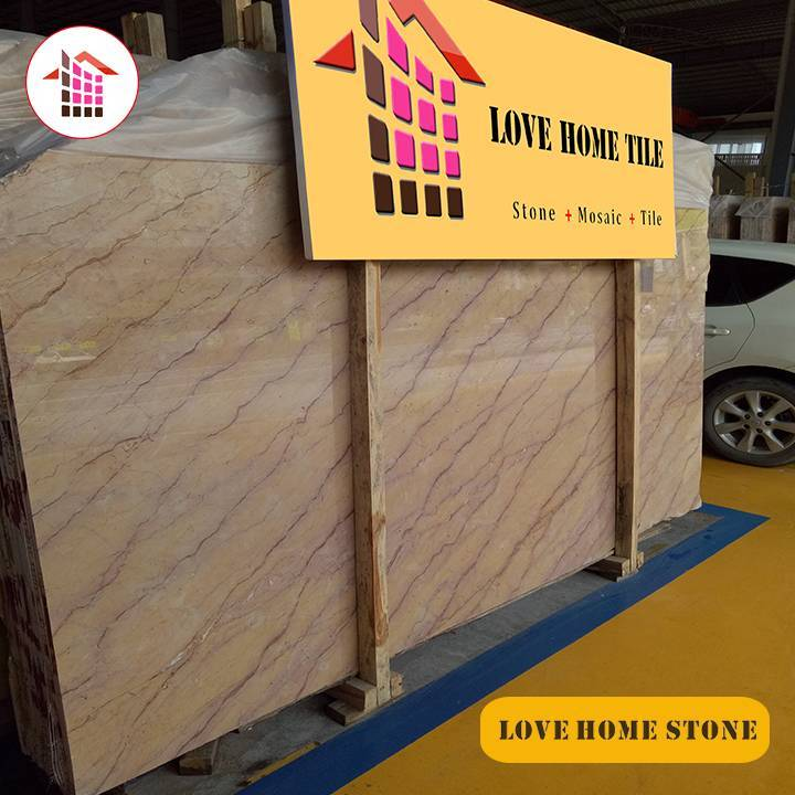 Hemingway   | China Supplier Natural Yellow Marble Slabs Wall or Floor Tiles