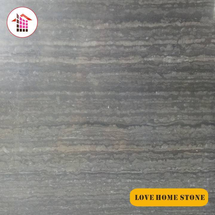 Guy  | China Supplier Natural Black Wooden gain Marble Slabs Wall or Floor Tiles