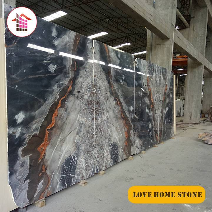 Nicholas  | China Supplier Natural Blue Marble Slabs Wall or Floor Tiles