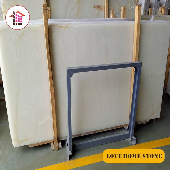 Liaonx   |  China Supplier Natural White Onyx